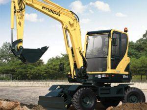 Hyundai Robex 55W-7 R55W-7 Wheel Excavator Workshop Service Repair Manual