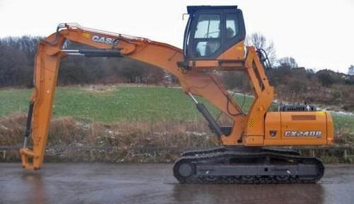 CASE CX240B SL Excavator Service Repair Workshop Manual