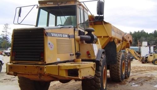 Volvo Bm A25c Articulated Dump Truck Workshop Repair Manual