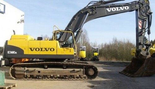 Volvo Ec360c Nl Excavator Service Repair Manual