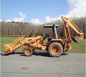 Case 580d 580sd Super D Ck Tractor Loader Backhoe Forklift Digger Operators Manual