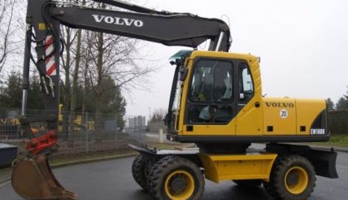Volvo Ew180b Wheeled Excavator Service Repair Manual