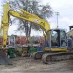 Kobelco SK135SRLC-1E Hydraulic Crawler Workshop Excavator Repair