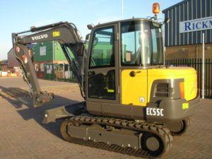Volvo Ec55c Compact Excavator Workshop Service Repair Manual