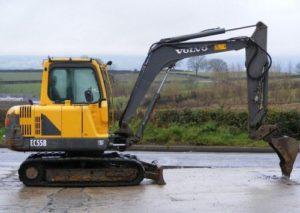 Volvo EC55B Compact Excavator Workshop Service Repair Manual