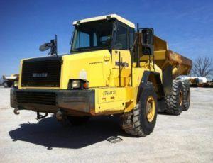 Komatsu Hm350-1 Articulated Dump Truck Operation Maintenance Manual
