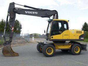 Volvo Ew180c Wheeled Excavator Workshop Service Repair Manual