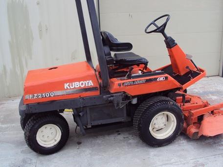 Kubota Fz2100 Fz2400 Workshop Service & Parts Manual