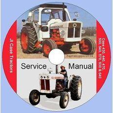 Case JI International 530 & 540 Factory Service Repair SHOP Manual