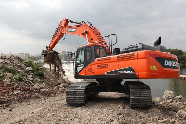 Doosan Daewoo Dx340lc Hydraulic Excavator Workshop Service Repair Manual Pdf