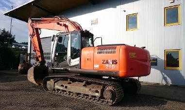 Hitachi Zaxis 210h-3 Hydraulic Cat Excavator Service Manual