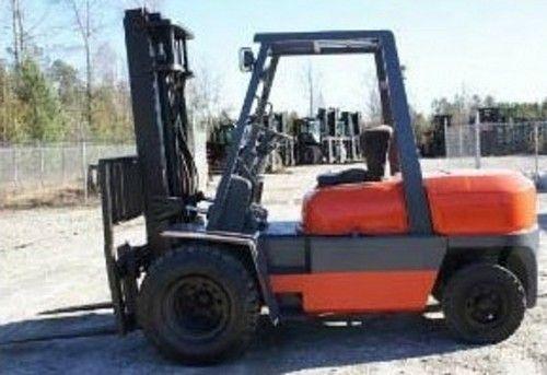 Toyota Forklift 52-6FGU33 Service Repair Workshop Manual