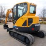 Hyundai Crawler Mini Excavator Robex 16-9 Operation Manual