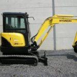 Hyundai Crawler Mini Excavator Robex 35Z-7A Operating Manual