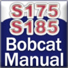 Bobcat Service S175, S175H, S185, S185H Skid Steer Service Repair Manual