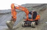 Doosan DX140W DX160W Wheel Excavator Workshop Service Repair Manual