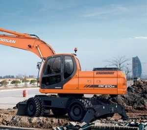 Doosan Daewoo Dx210w Wheel Excavator Service Repair Workshop Manual Pdf