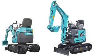 Kobelco Sk09sr Hydraulic Excavator & Engine Parts Manual