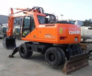 Doosan Daewoo Solar 170w-v Workshop Service Repair Manual