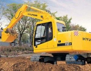 Hyundai R110-7 Crawler Excavator Workshop Service Repair Workshop