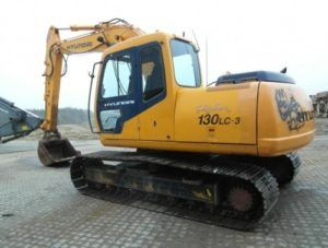 Hyundai R130LC-3 Crawler Excavator Workshop Service Repair Manual