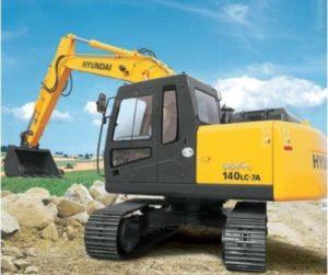 Hyundai R140LC-7A Crawler Excavator Service Repair Workshop Manual