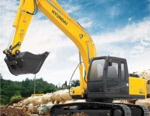 Hyundai R160LC-7 Crawler Excavator Service Repair Workshop Manual