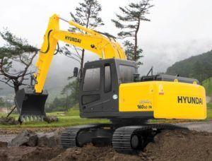 Hyundai R160LC-7A Crawler Excavator Service Repair Workshop Manual