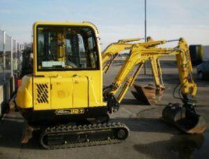 Hyundai Robex 22-7 R22-7 Mini Excavator Workshop Service Repair Manual