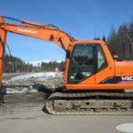 Doosan Daewoo Solar 140 LC-V Excavator Service Repair Workshop Manual
