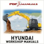 Hyundai Crawler Excavator Robex 110-7 R110-7 Service Repair Complete Manual