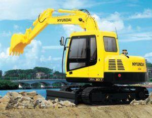 Hyundai Crawler Excavator Robex 80-7 R80-7 Service Repair Manual