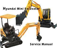 Hyundai Crawler Mini Excavator Robex 36N-7 Workshop Service Repair Manual