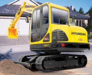 Hyundai R55-7A Excavator Workshop Service Repair Operating Manual