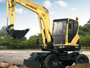 Hyundai Robex 55W-7 R55W-7 Wheel Excavator Workshop Service Repair Manual