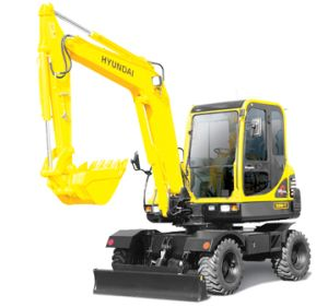 Hyundai Robex 55W-7A R55W-7A Wheel Excavator Workshop Service Repair Manual