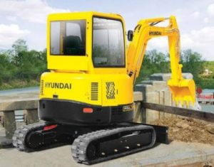 Hyundai Robex 75-7 Crawler Mini Excavator Workshop Service Manual