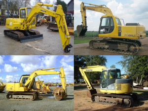 Komatsu Service Pc200-5, Pc200-5 Mighty, Pc200lc-5, Pc200lc-5 Mighty, Pc220-5, Pc220lc-5 Shop Manual Excavator Repair Book