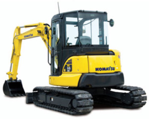 Komatsu PC55MR-3 Cat Excavator Service Repair Manual