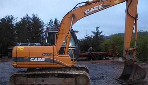Case Cx130 Cx130lc Cx130lr Crawler Excavator Service Repair Manual Set