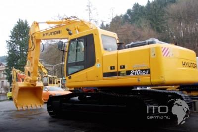 Robex 210LC-7 R210LC-7 Hyundai Crawler Excavator Service Manual
