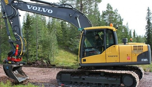 Volvo Ec160cl Excavator Service Repair Manual