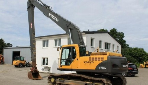 Volvo Ec290b Lr Excavator Service Repair Manual