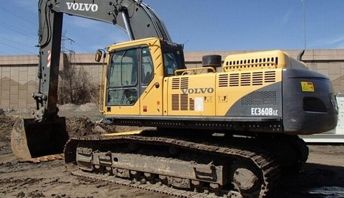 Volvo Ec360b Lc Excavator Service Repair Manual