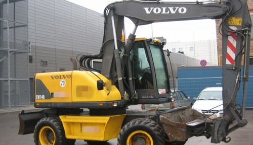 Volvo Ew140 Wheeled Excavator Service Repair Manual