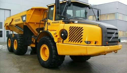 Volvo A30e Articulated Dump Truck Service Repair Manual