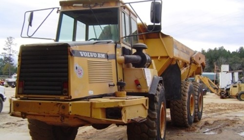 Volvo Bm A25c Articulated Dump Truck Workshop Repair Manual