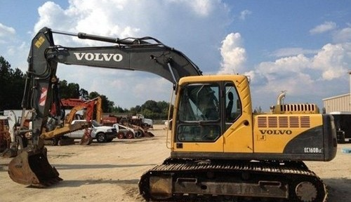 Volvo Ec160b Lc Excavator Service Repair Manual