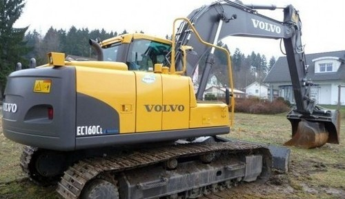 Volvo Ec160c Nl Excavator Service Repair Manual