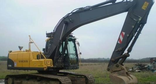 Volvo Ec180cl Excavator Service Repair Manual
